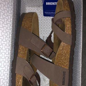 BIRKENSTOCK Mayari mocca sandal